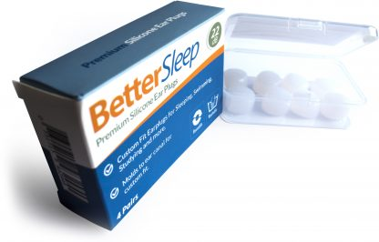 Better Sleep Moldable Silicone Earplugs for Sleep, Swimming, Studying